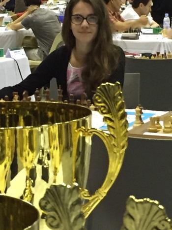 Gagner une coupe aux échecs