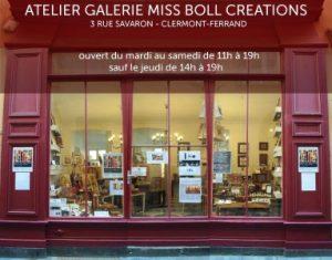 L'atelier Miss Boll à Clermont Ferrand