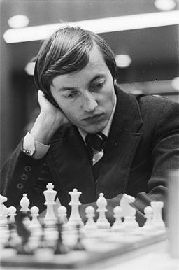 Anatoly Karpov à Tilburg en 1977