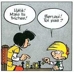 Tricher aux échecs