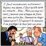 Tintin et le jeu d'échecs