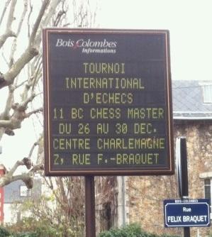 Tournoi d'échecs de Bois-Colombes