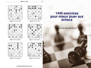 1440 exercices pour mieux jouer aux échecs