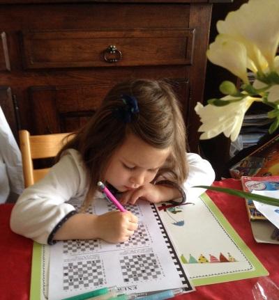 Les enfants et le jeu d'échecs